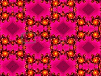Fractal seamless pattern