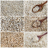 set of grains