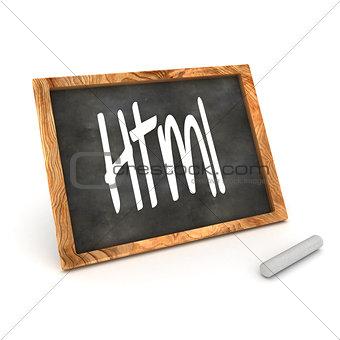 Blackboard Html