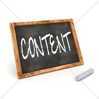 Blackboard Content