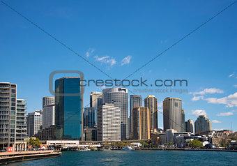 circular quay in central sydney australia