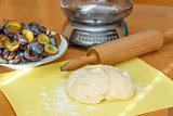 dough for plum cake