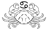 Cancer zodiac horoscope astrology sign
