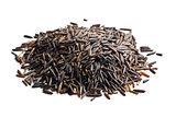 pile of wild rice