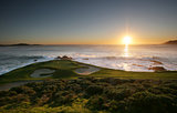 Pebble beach golf course, California, USA