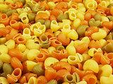 Multicolor italian pasta