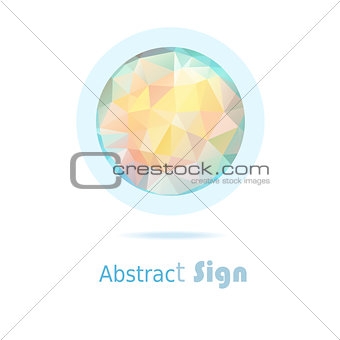 abstract sign