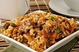Beef pepper steak fried rice