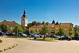 Town of Vrbovec in Croatia