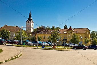 Town of Vrbovec in Croatia