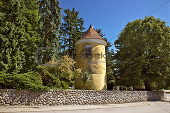 Town of Vrbovec historic park tower
