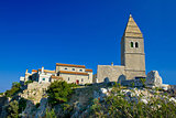 Stone town of Lubenice in Croatia