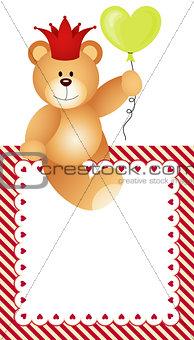 Frame Lovely Teddy Bear