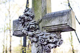 part of the ancient cross