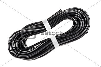 Black electric cable