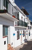Typical white houses in Mijas