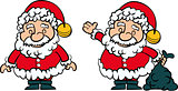 Santa Clause set of 2