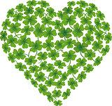heart shamrock