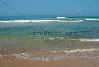 ocean is calm