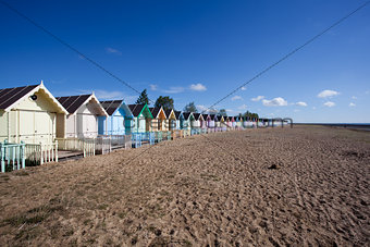 West Mersea Beach, Essex, England
