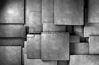 cement  blocks wall