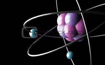 Atom or molecule