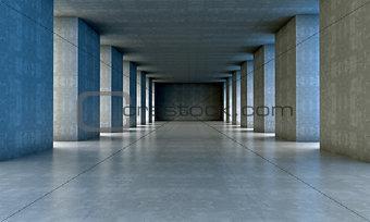 Cement and concrete architecture