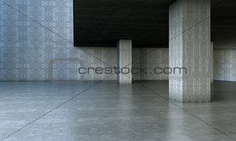 Cement and concrete architecture