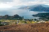 View from island Vulcano.