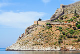 Turkish fortress at the Mediterranean sea