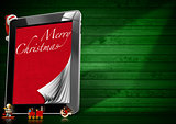 Merry Christmas - Tablet Computer