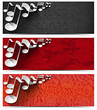Three Musical Banners - N2