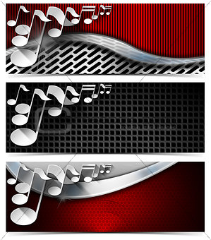 Three Musical Banners - N4