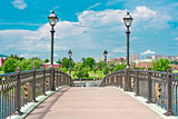 Bridge in Tsaritsino Park, Moscow