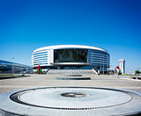 Minsk Arena in Belarus. Ice Hockey Stadium.