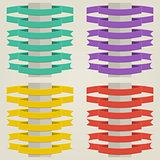 Set Flat Ribbons