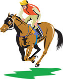 Horse Racing Equestrian Retro