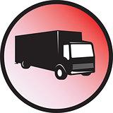 Delivery Truck Retro