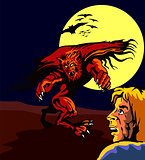 Man and Werewolf