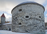 Medieval tower Thick Margarita in Tallinn