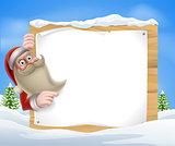 Santa Christmas Banner