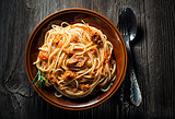 Spaghetti wit tuna