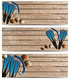 Three Beach Holidays Banners - N1