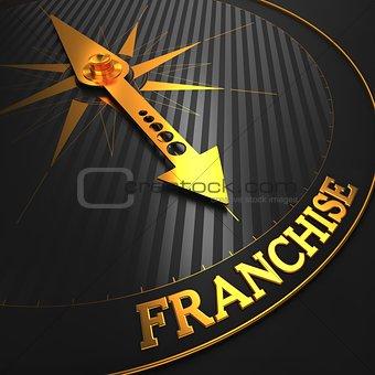 Franchise. Business Concept.