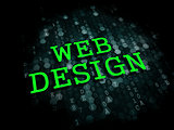 Web Design. Internet Concept.