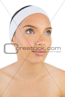 Attractive woman wearing headband