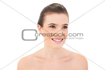 Prtetty woman smiling