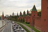 view on Moscow Kremlin