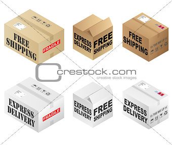 Free Shipping Boxes