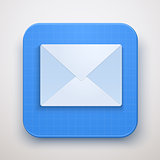 Envelope Mail icon. Premium design.